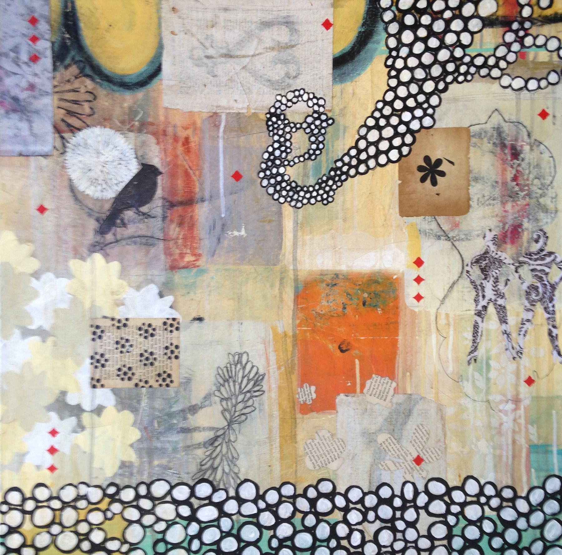 What If?: The Possibilities of Mixed Media Painting